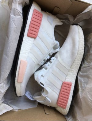 Adidas NMD R1 White Pink • Blogger • Sommer