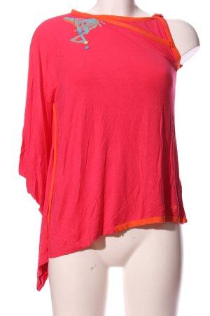 Adidas Eénschoudershirt roze-licht Oranje casual uitstraling