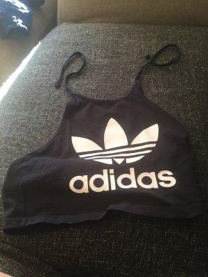 Adidas Originals Cropped top zwart-wit
