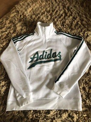 Adidas Originals Pull marin blanc-vert