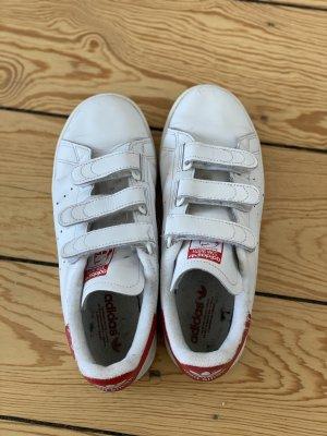 Adidas Sneaker con strappi bianco-rosso