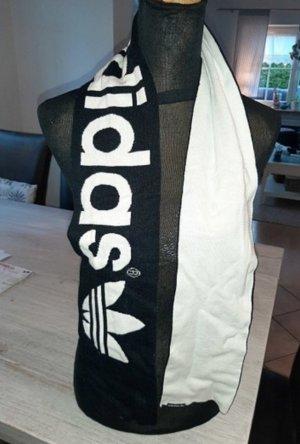 Adidas Bufanda tubo negro-blanco