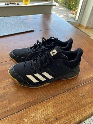 Adidas Originals Sneakers met veters zwart Gemengd weefsel