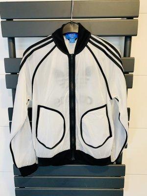 Adidas Originals Overgangsjack wit-zwart