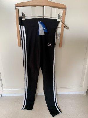 Adidas Leggings nero-bianco