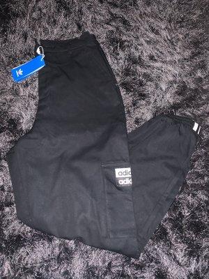 Adidas Pantalon cargo noir