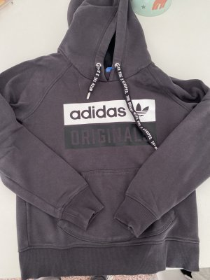 Adidas Originals Capuchon sweater antraciet