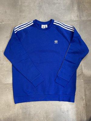Adidas Sudadera de forro azul