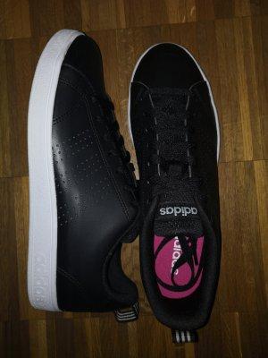 Adidas Originals Basket à lacet blanc-noir