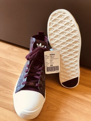 Adidas Originals High top sneaker karmijn