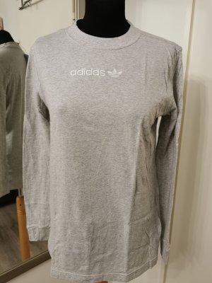 Adidas Originals Manica lunga grigio chiaro Cotone