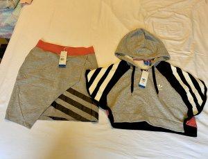 Adidas Originals Couture Hoodie 40 Rock 42
