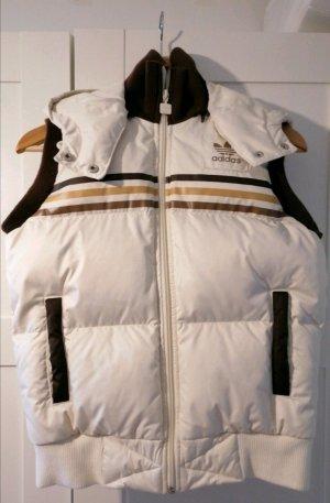 Adidas Down Vest light brown-cream