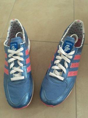 Adidas Originals Disney Princess Cinderella Sneakers LA Trainer Größe 40 blau rosa