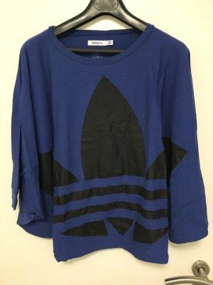 Adidas Originals Koszulka oversize niebieski-czarny Bawełna