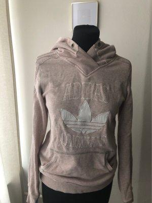 Adidas Originals Maglione con cappuccio rosa pallido-rosa antico