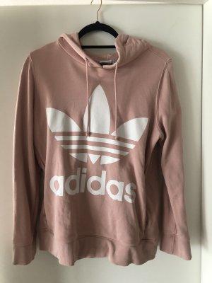 Adidas Originals Hooded Sweatshirt dusky pink