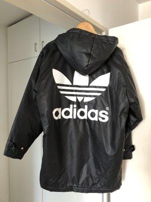 Adidas Originals Oversized jack zwart-wit