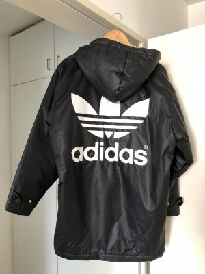 Adidas Originals Giacca taglie forti nero-bianco