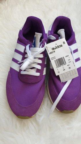 Adidas Originals Sneakers met veters lila Leer