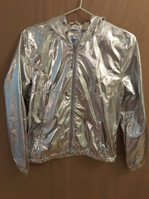 Adidas Originals Chaqueta deportiva color plata