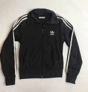 Adidas Originals Chaqueta deportiva negro-blanco
