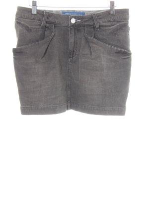 Adidas Originals Gonna di jeans grigio scuro stile casual