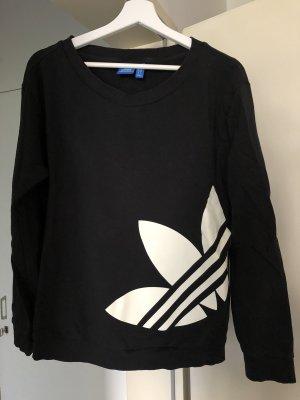 Adidas Originals Kraagloze sweater zwart-wit