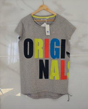 Adidas Originals Camisa larga gris