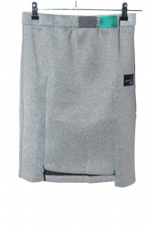 Adidas Originals Minigonna grigio chiaro motivo a pallini stile professionale