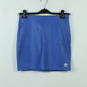 Adidas Originals Minigonna bianco-blu Poliuretano