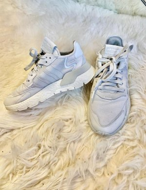 Adidas Wysokie trampki srebrny-jasnoszary