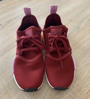 Adidas NMD Sneaker stringata rosso scuro-carminio
