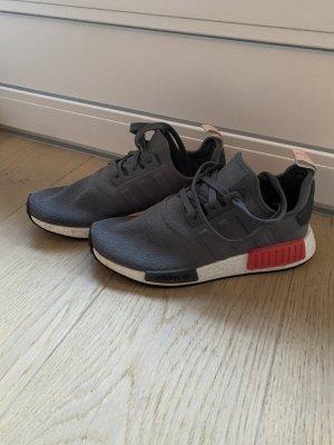 Adidas NMD Sneakers met veters grijs