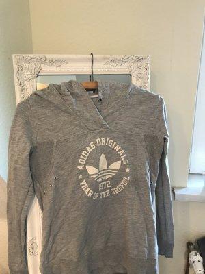 Adidas Originals Jersey con capucha color plata