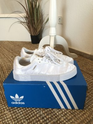 Adidas Originals Platform Trainers white