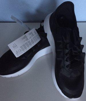 Adidas Originals Schwarz Weiß Satin