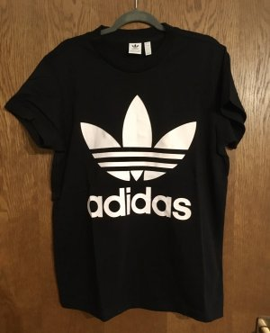 Adidas Originals T-shirt zwart-wit