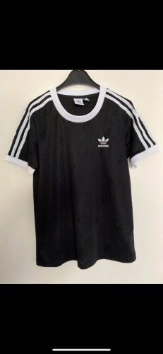 Adidas Originals Shirt schwarz weiß 36 wie neu