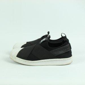 Adidas Originals Slip-on Sneakers black-white mixture fibre