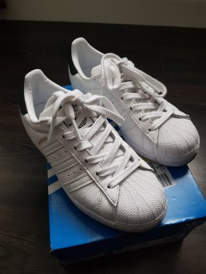 Adidas Originals Sneakers met veters wit-zwart