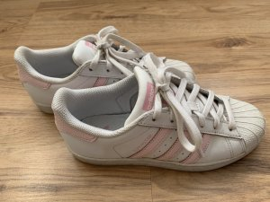 Adidas Originals Sneakers met veters wit-lichtroze Leer
