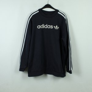 Adidas Originals Felpa bianco-blu scuro Cotone