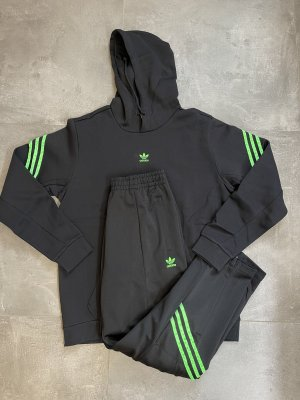 Adidas Sudadera de forro negro