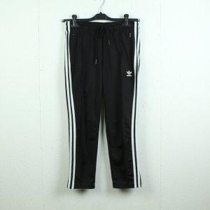Adidas Originals Sportbroek zwart-wit Polyester