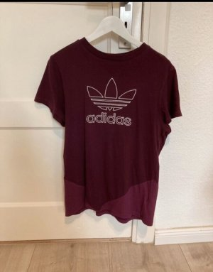 Adidas Originals T-shirt bordeaux