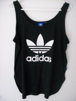Adidas Canotta nero-bianco