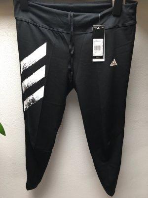 Adidas Originals Pantalone da ginnastica nero-bianco