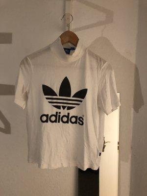 Adidas Originals Top mit Stehkragen und großem Logoprint