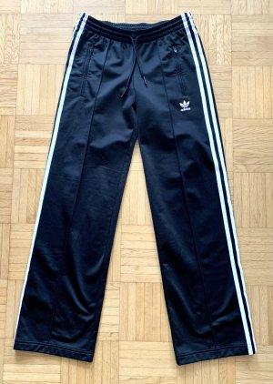 Adidas Originals Sportbroek zwart-wit Acryl